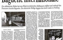 Baguette internationale (Dreiland-Zeitung 02/02/1995)